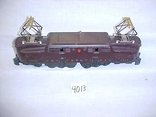 4013: Lionel Post War 2340 Tuscan GG1