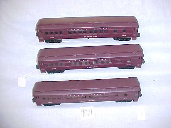 4014: Lionel Post War Madison Set