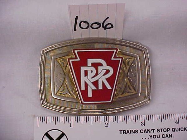 2006: Pennsylvania Railroad Belt Buckle