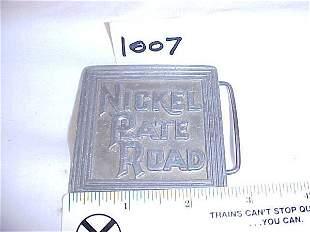 Nickel Plate Road Belt Buckle