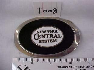 New York Central System Belt Buckle
