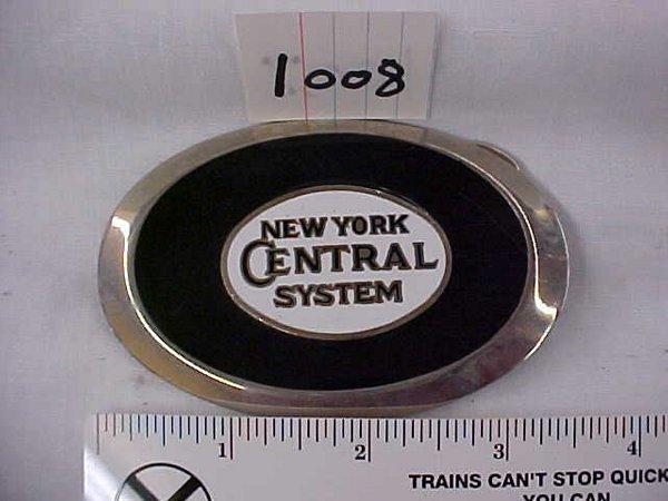 2008: New York Central System Belt Buckle