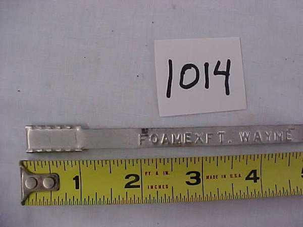 2014: Foam Ex. Ft Wayne Seal Strap