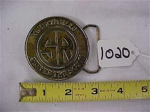 The Southern RR Belt Buckle