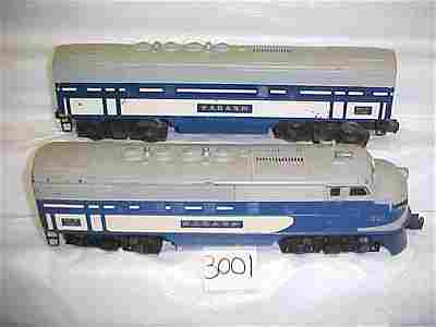 3001: Lionel 2367 AB Diesel Locomotive Wabash