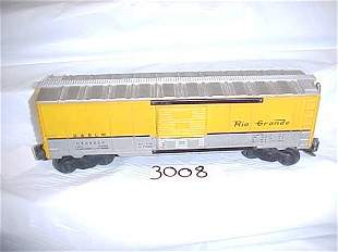 Lionel 6464 650 D & R G W Box Car