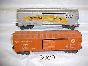 2 Lionel Box Cars-6464, 6464100