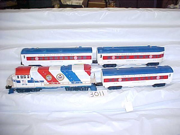 "3011: Lionel TCA ""Spirit of 76"" Passenger Set"