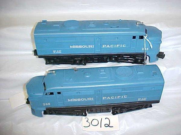 3012: Lionel 205 Missouri P. Engine & Dummy