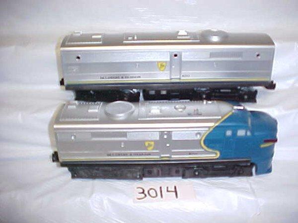 3014: Lionel 8252 D&H A-B Locomotive