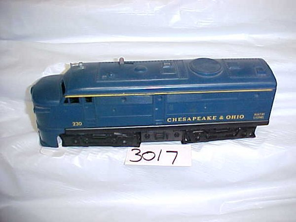 3017: Lionel 230 Chesapeake & O. Locomotive