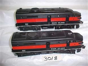 Lionel 2031 Rock Island Engine & Dummy