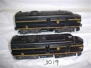 Lionel 2032 Erie Engine & Dummy