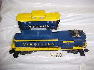 Lionel 8659 Virginian Engine & Caboose