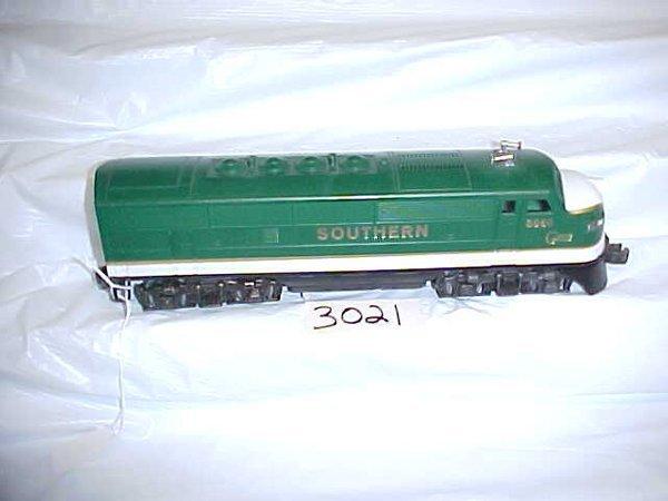 3021: Lionel 8566 Southern Locomotive