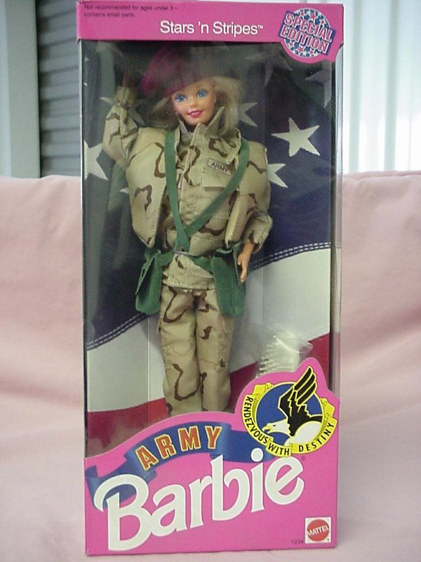 2004: Army Barbie Stars and Stripes
