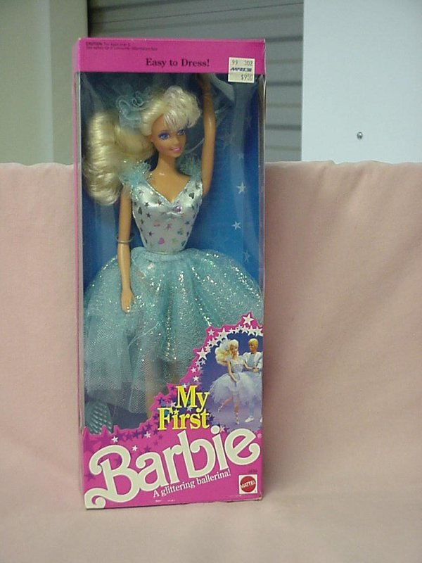 2006: My First Barbie 3839