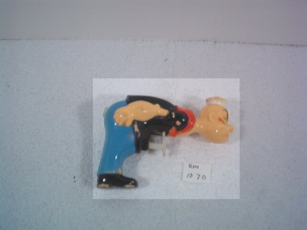 2332: Very Rare Early Popeye Squirt Pistol