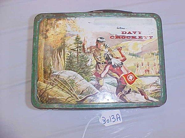 3013A: Davy Crockett Lunch Box, 1955