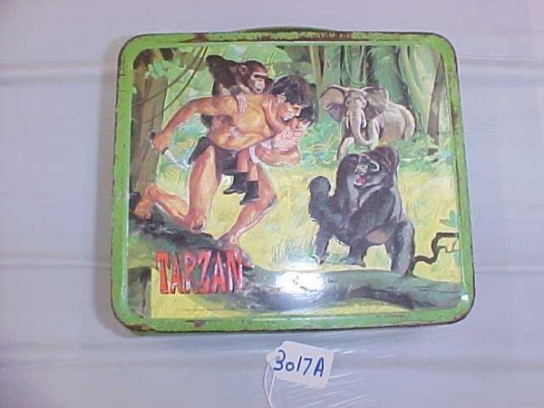 3017A: Tarzan Lunch Box, 1966