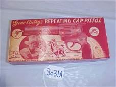 3031A: Gene Autry Cap Pistol Box only C.I.