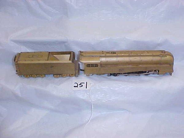 4251: Brass 4-8-2 Locomotive and Tender