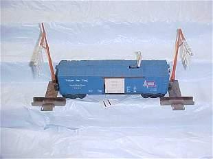 Lionel 3424 Wabash Box Car &Ass.