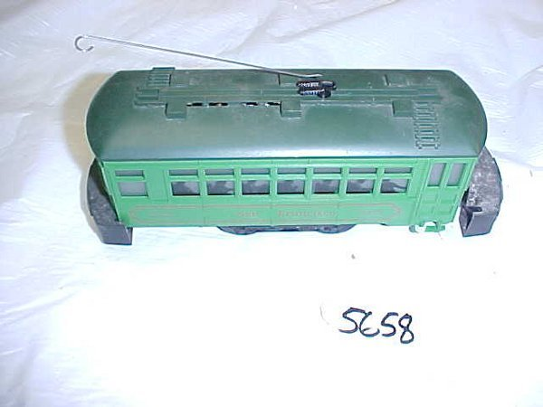 5658: San Francisco Lionel 8404 Trolley