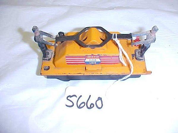 5660: American Flyer Hand Car