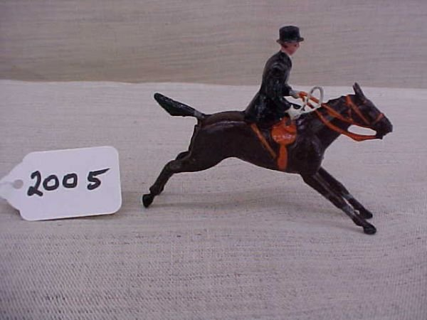 2005: Britians Rare Full cry mounted Lady side saddle F