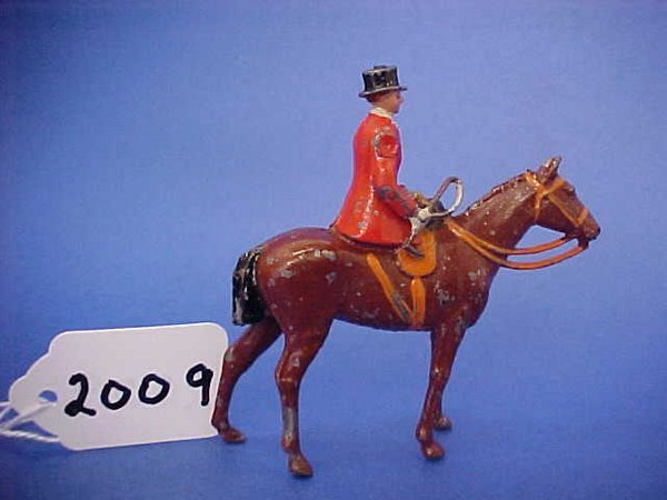 2009: Britians, Full Cry mounted Female side saddle,Top