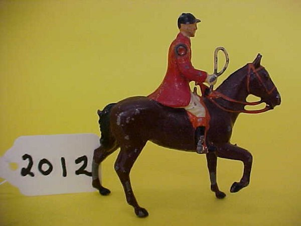 2012: Britains the meet, mounted male