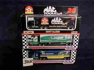 3 Matchbox Nascar Transporters