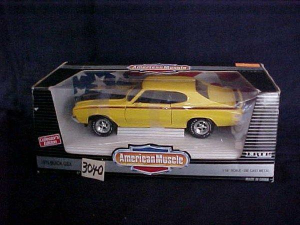 3040: Ertl  muscle car 1970 buick gsx
