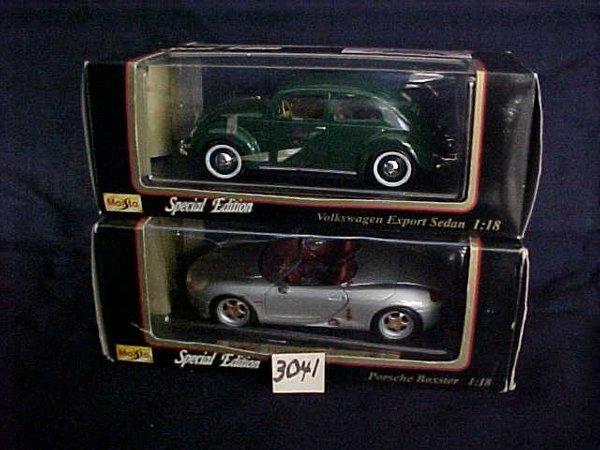 3041: Maisto 1951 Volkswagen Export Sedan