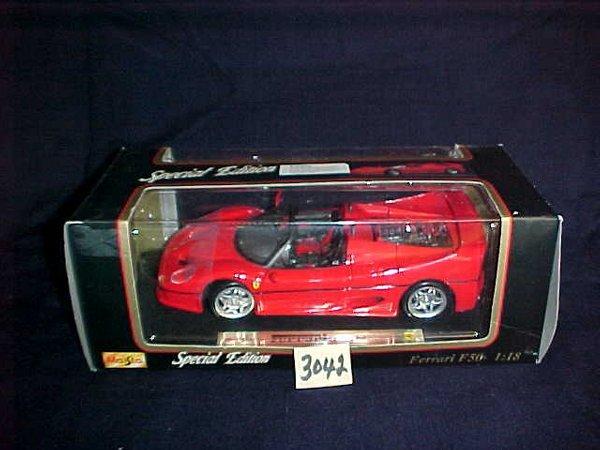 3042: Maisto Ferrari F50 1995