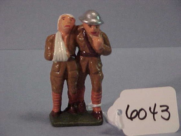 6043: Grey Iron Doughboy Supporting