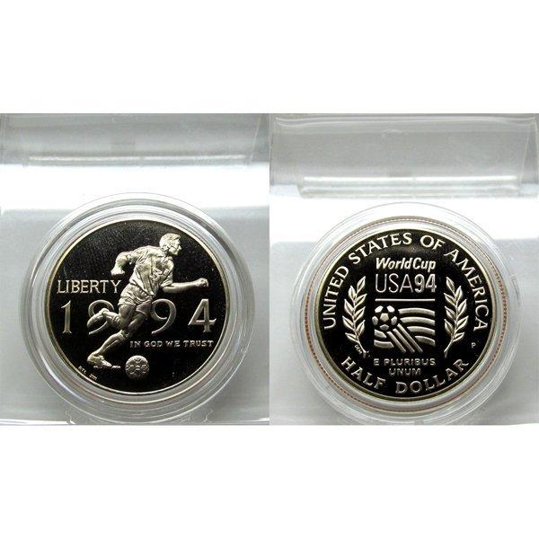 1994-P World Cup Proof Half Dollar