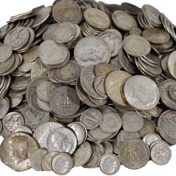 90% Silver Coins $10 Face Value