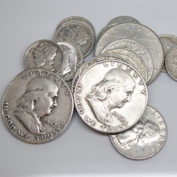 90% Silver Coins $5 Face Value