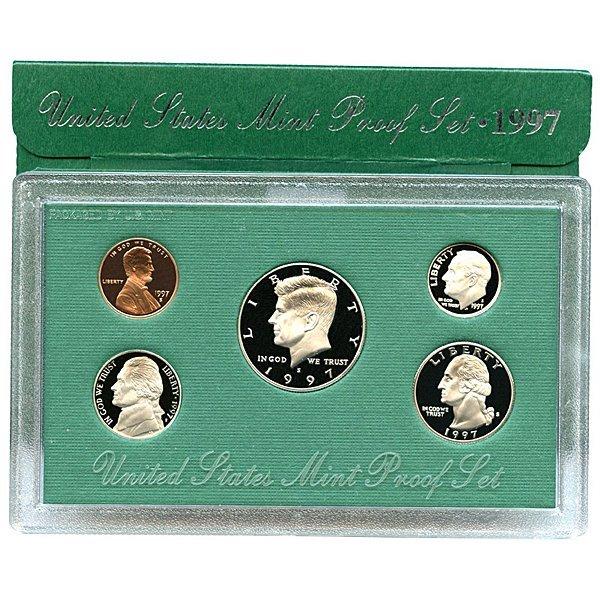 1997-S United States Proof Mint Set