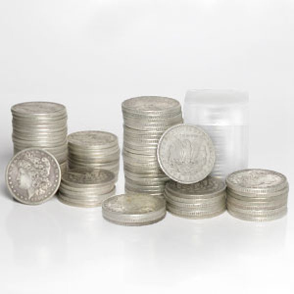 100-Coin Set: Morgan Silver Dollars