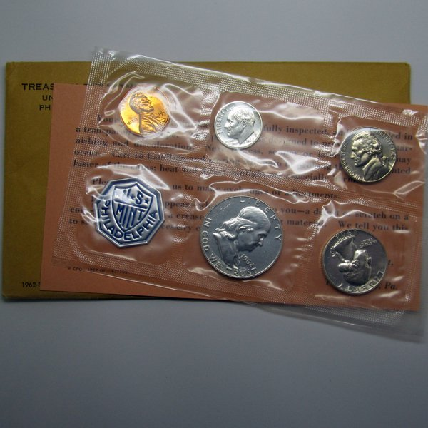 1962 Proof Silver Set - Flat Pack