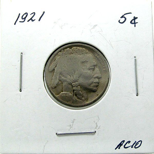 1921 Buffalo Nickel #AC10