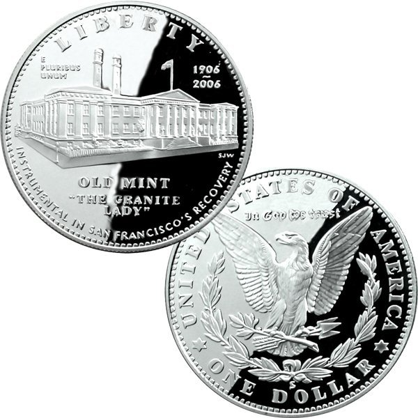 2006-S San Francisco Old Mint Proof Silver Dollar