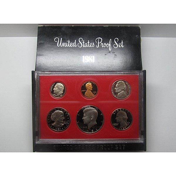 1981-S United States Proof Mint Set