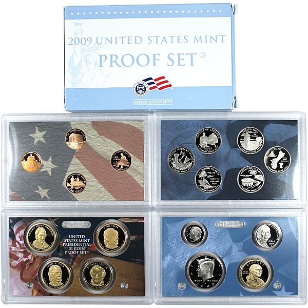 2009-S United States 18-Coin Proof Mint Set