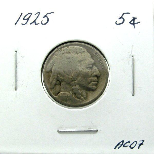 1925 Buffalo Nickel #AC07