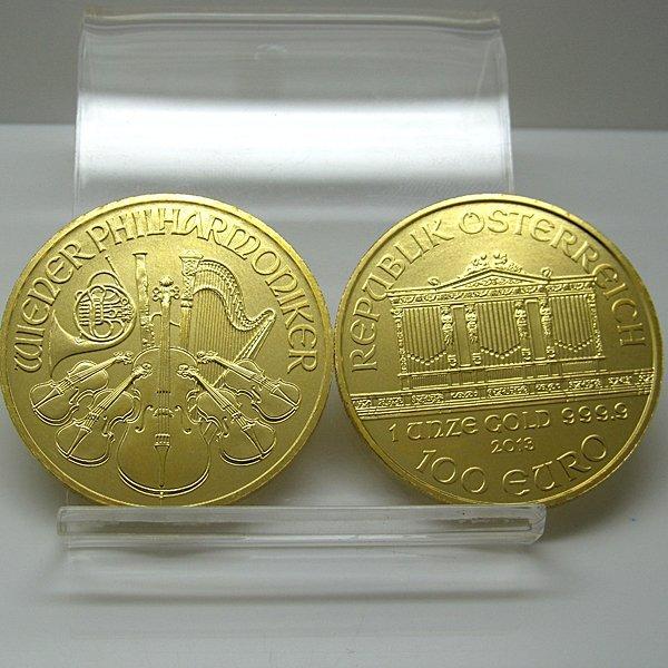 1 Oz BU 24k Gold Austrian Vienna Philharmonic