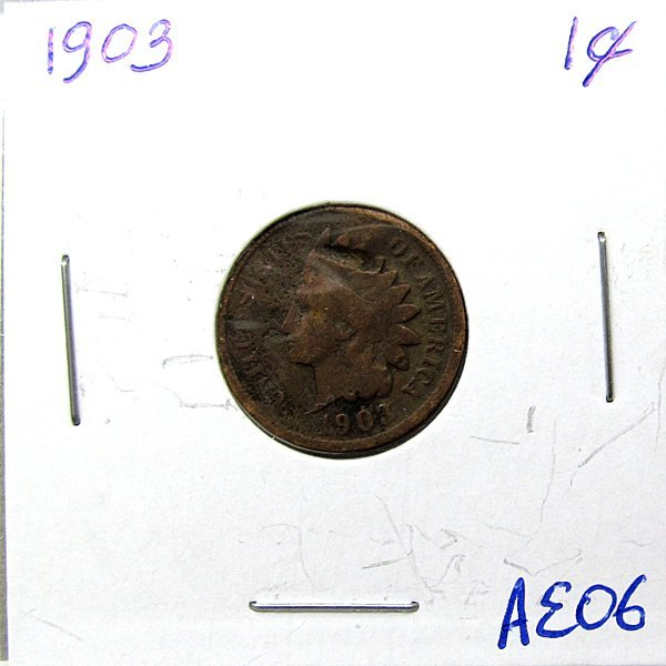 1903 Indian Head Cent #AE06